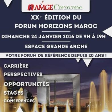 horizon maroc 2016