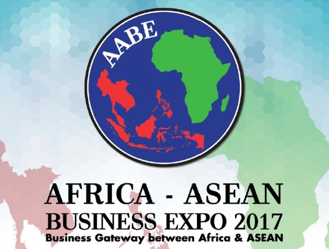 1st Africa-ASEAN Business Expo (AABE),Johannesburg (South Africa), 6 – 8 November 2017